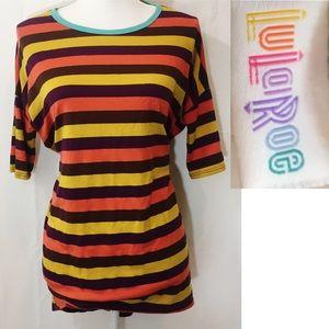 Lularoe striped shirt/dress⚡️